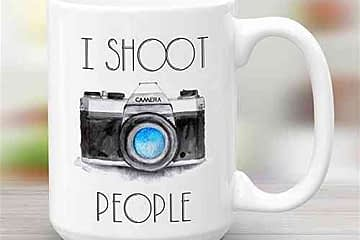 I shoot people – Photography Camera 11 or 15 oz Funny Mug