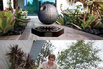 Star Wars Death Star Levitating Speakers