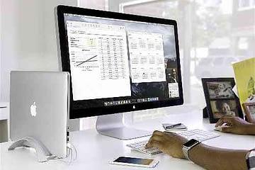 desktop stand for Apple