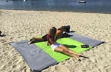 Sand Proof Outdoor Compact Beach Blanket