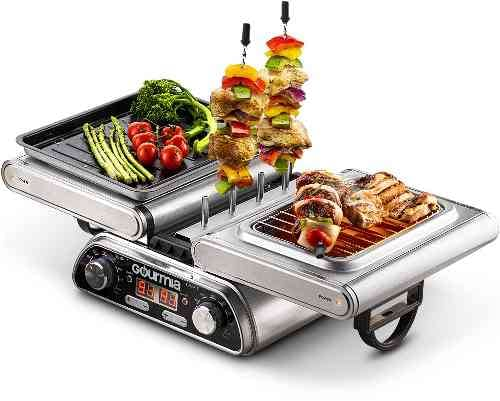 Digital Dual Indoor Grill