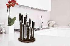 Wood Magnetic Knife Block