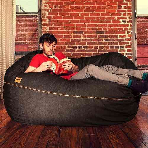 5.5 ft Bean Bag Loveseat